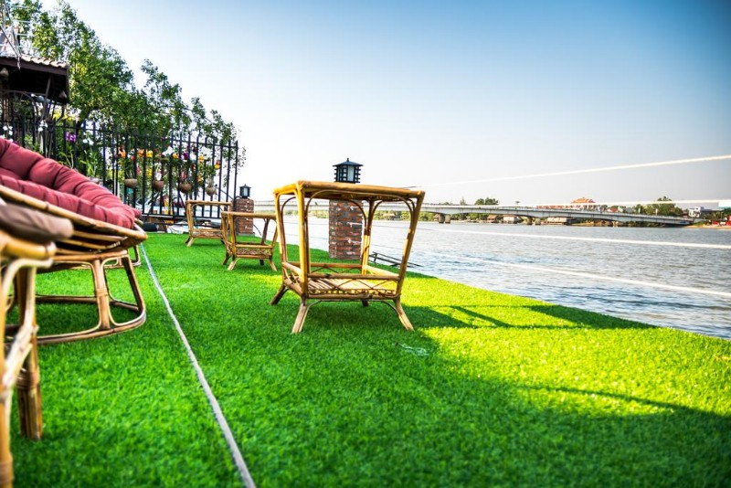 Vimean Riverside Guesthouse Kampot Cambodia